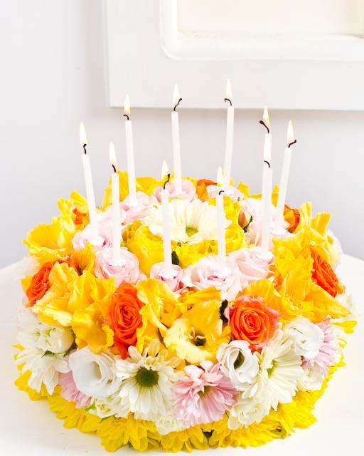 Torte no ziediem