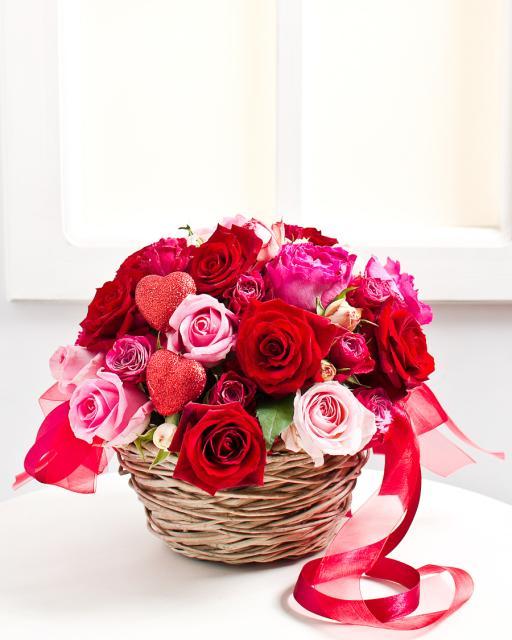 Kompozīcija Valentīna dienā