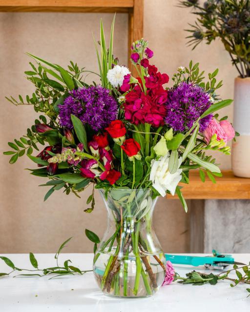 Ziedu svētki - florista fantāzija