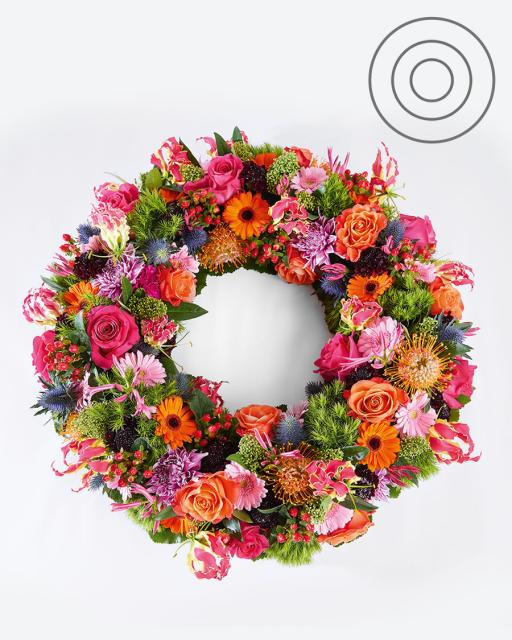 Life to remember | Funeral wreath