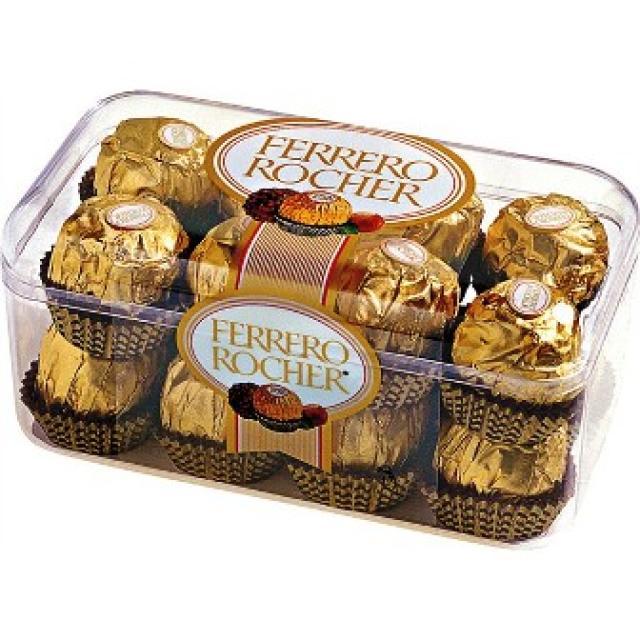 Ferrero Rocher konfekšu kārba